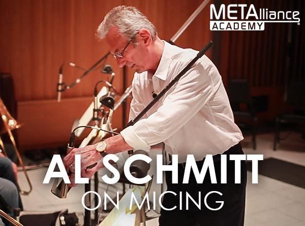Al Schmitt on Micing