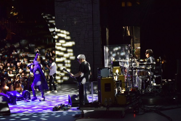 Blondie performing at Chastain Park ATL