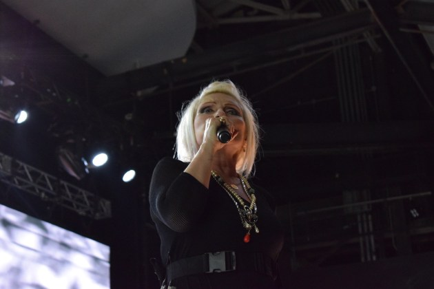 Debbie Harry at Chastain Parka ATL