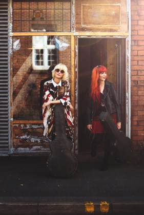 MonaLisa Twins Record Store Front