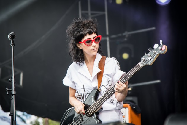 The Coathangers at PBR Fest Atlanta Oct 2017 - photo by Will Goicochea