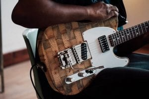 Wallace Detroit Guitars lifestyle photo