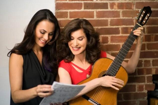 Sharon Isbin and Isabel Leonard