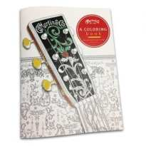 martin-guitar-adult coloring book