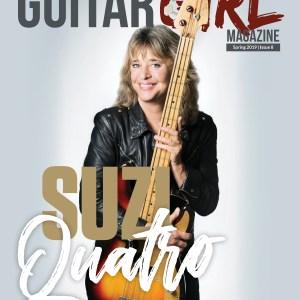 guitar girl magazine spring 2019 issue 8 suzi quatro cover