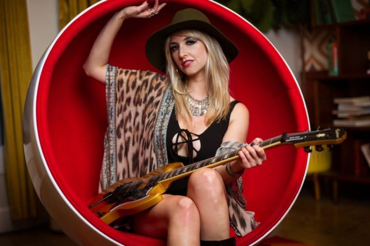Lightning' Strikes: Guitarist Brittany Denaro Takes the Lead with Vixen -  Guitar Girl Magazine
