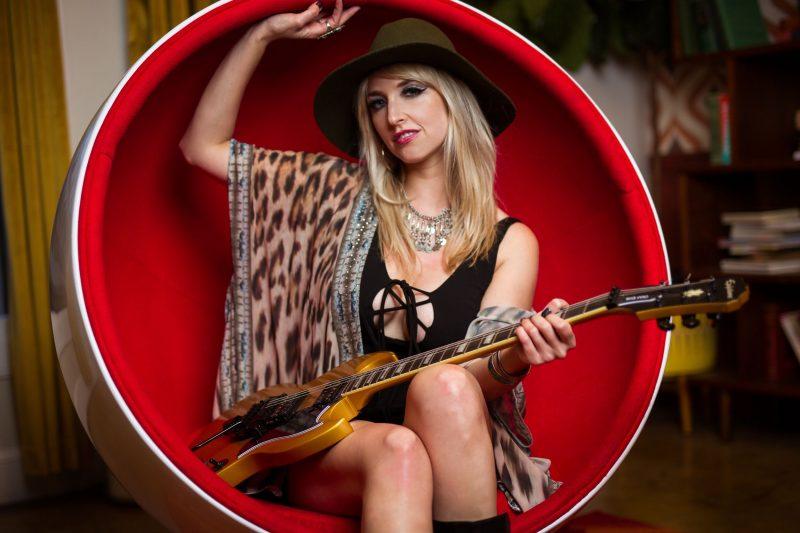 Lightning' Strikes: Guitarist Brittany Denaro Takes the Lead with Vixen -  Guitar Girl Magazine
