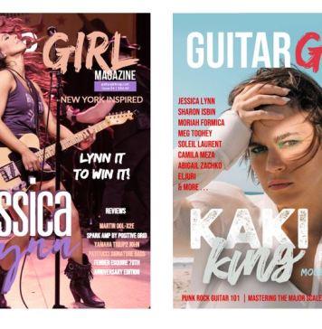 guitar magazine covers
