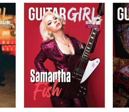 guitar girl magazine covers melissa etheridge samantha fish kiki wong