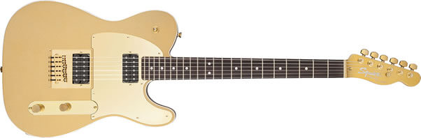 J5 Telecaster Frost Gold