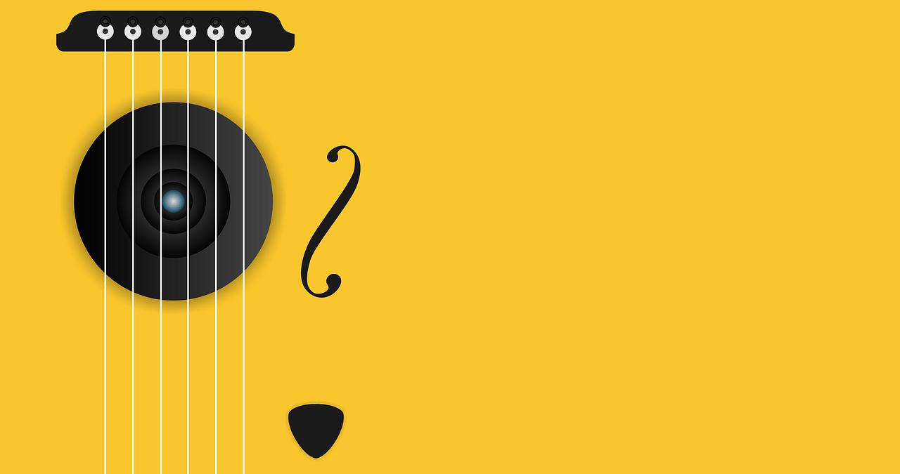 アコースティックギターのサウンドイメージ