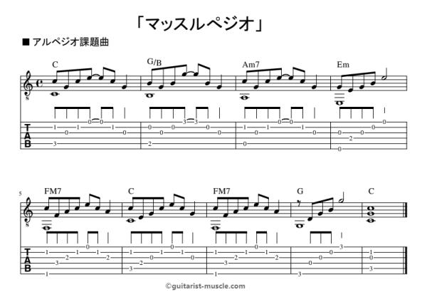 方 アルペジオ 弾き ギターのアルペジオとは?弾き方や練習のコツ