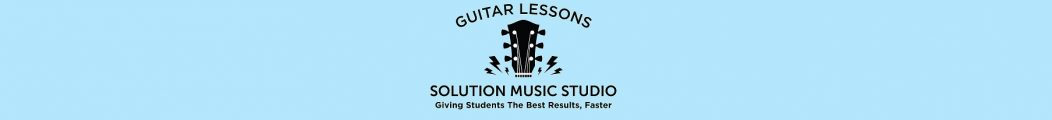 Guitar Lessons at Solution Music Studio