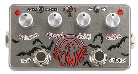 Winter NAMM 2012 три прототипа новых педалей эффектов: Z VEX Sonar