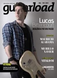 Capa da edição 86 da revista Guitarload