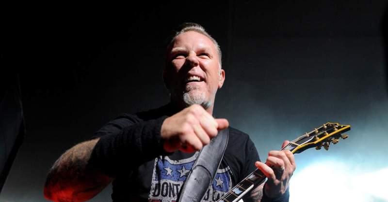 James Hetfield no palco