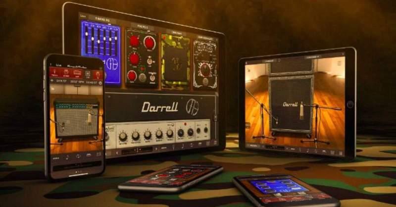 Coleção Dimebag Darrell CFH para AmpliTube