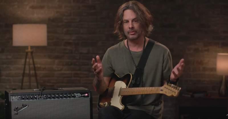 Richie Kotzen com o Fender Tone Master Twin Reverb: