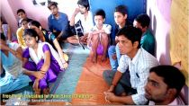 Poor Children Delhi Learn Music