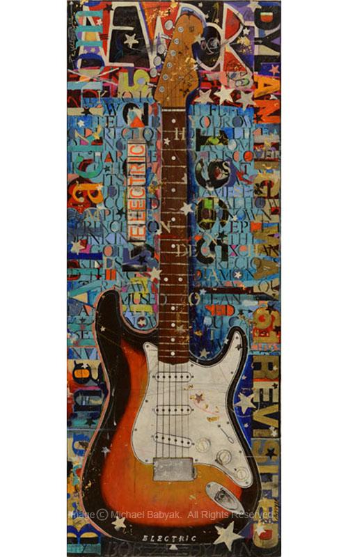 Bob Dylan Guitar Newport Folk Festival Fender Stratocaster