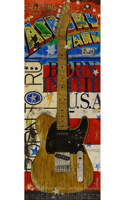 Bruce Springsteen Guitar Esquire Telecaster