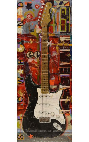 Eric Clapton Guitar Blackie Fender Stratocaster 2