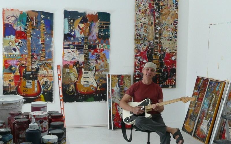 Michael Babyak in Studio