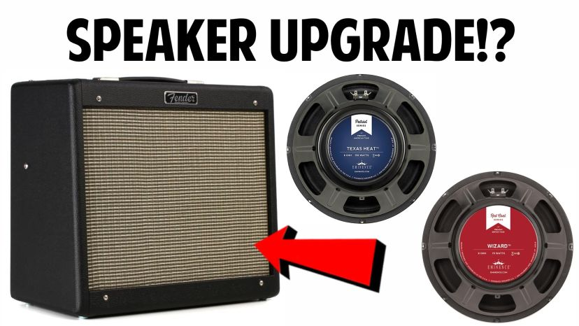 what is the best speaker for a Fender Blues Junior