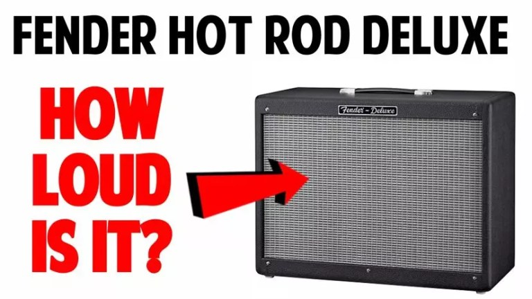How Loud is a Fender Hot Rod Deluxe?