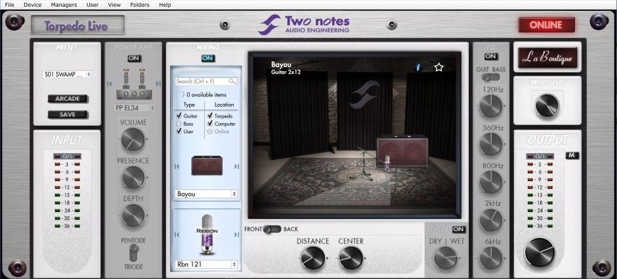 Two-Notes Live Software
