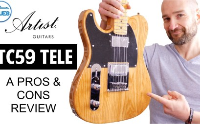 Artist Guitars TC59 Telecaster Review