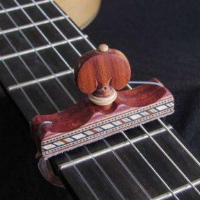 Cejilla flamenca artesana taracea
