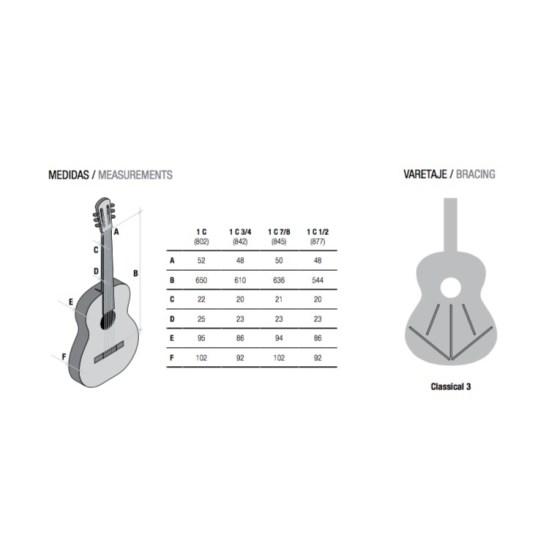 Guitarra clásica Alhambra C1