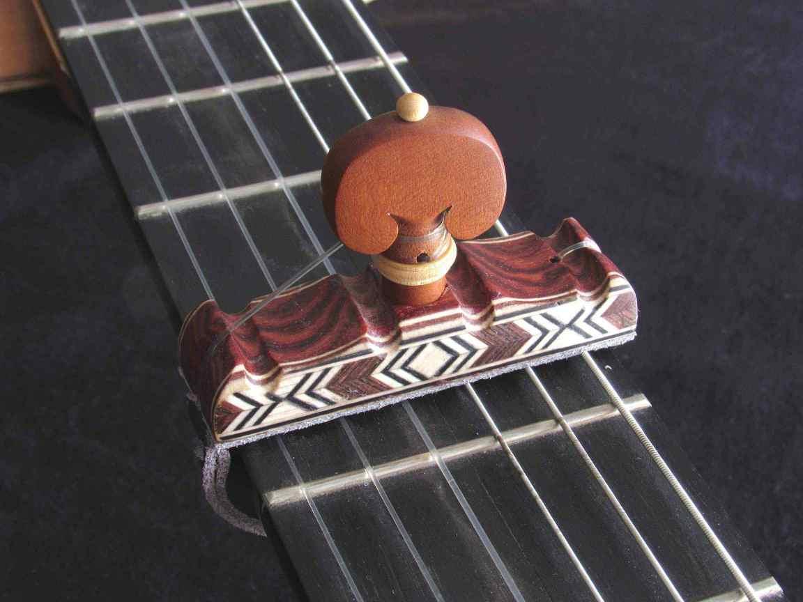 Cejilla artesana de madera