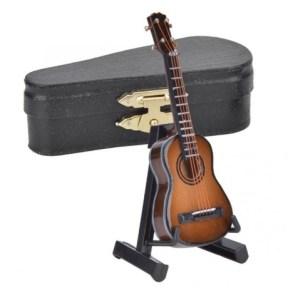 miniatura guitarra cedro
