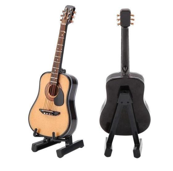 Miniatura guitarra acústica