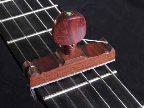 Cejilla de madera de Granadillo