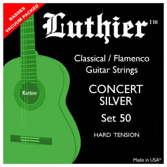 Luthier 50 Concert Silver