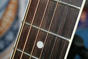 guitarra trastes