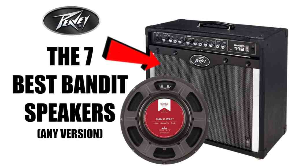 The 7 Best Peavey Bandit 112 Replacement Speakers