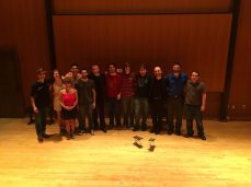 FSU guitar Students with Soloduo