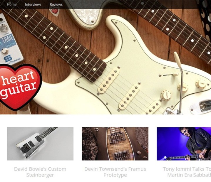 i heart guitar blog