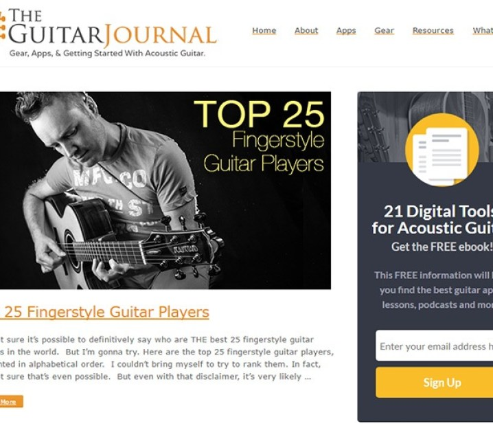 The guitar journal