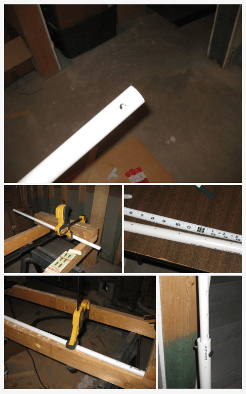 working with the pvc