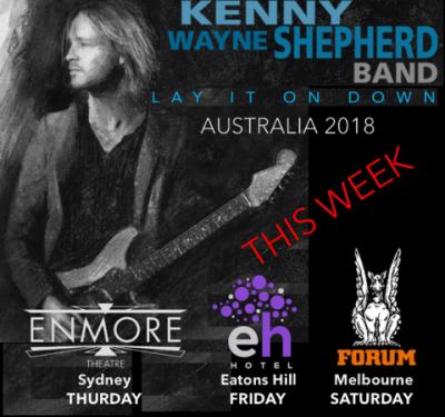 Kenny Wayne Shepherd At The Enmore