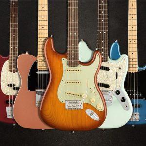 Fender's New Guitar Categories