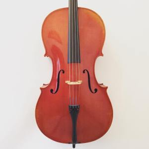3/4 size Modern cello from the Belgian workshops of Henri Delille