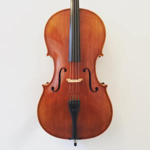 3/4 size German cello by Lothar Semmlinger