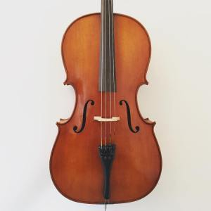7/8 size Modern Polish cello from the workshops of Jan Bobak