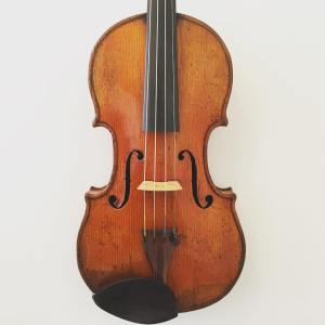 "French reproduction style violin labelled ""Gand Freres"" dated 1868"
